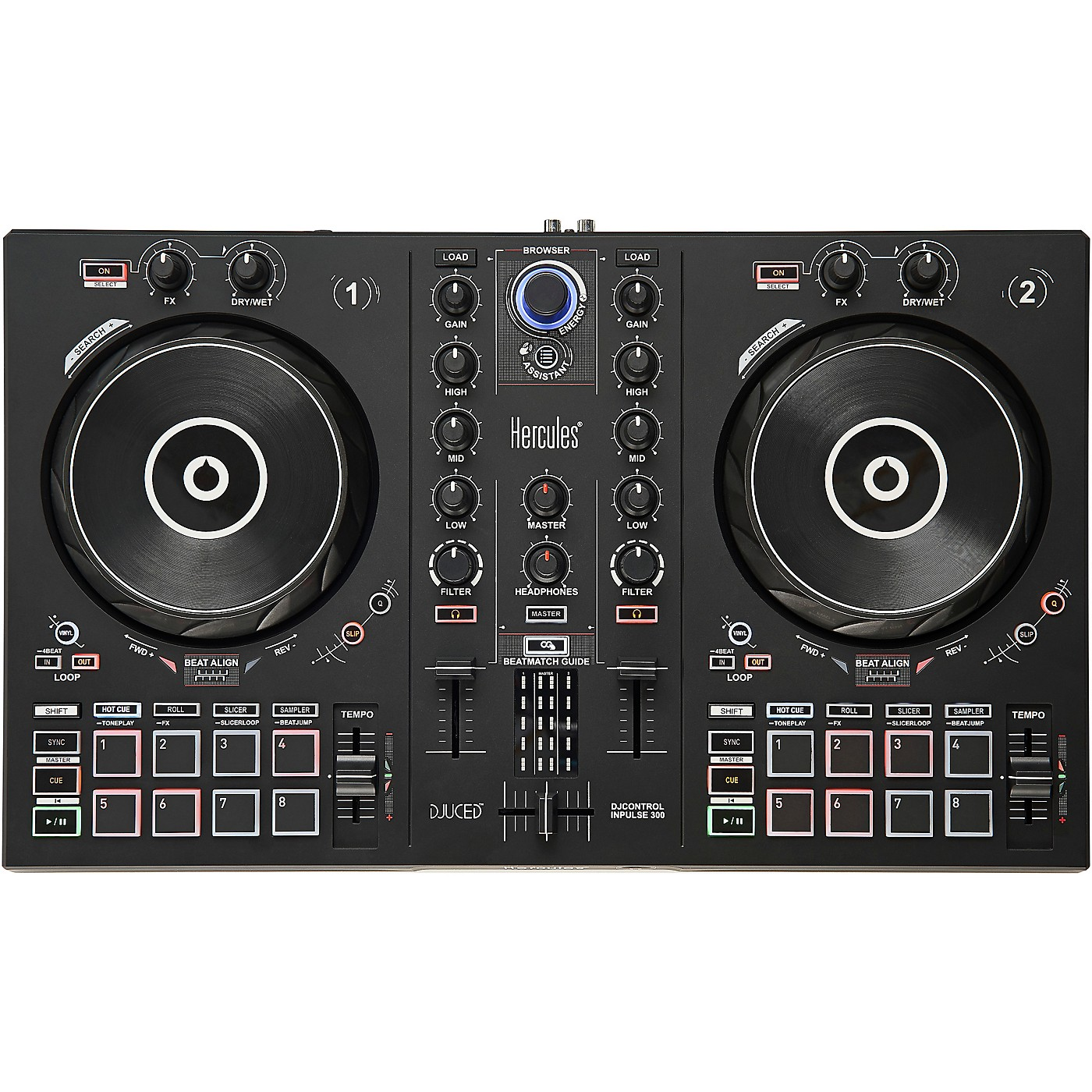 Hercules DJ DJControl Inpulse 300 DJ Controller thumbnail