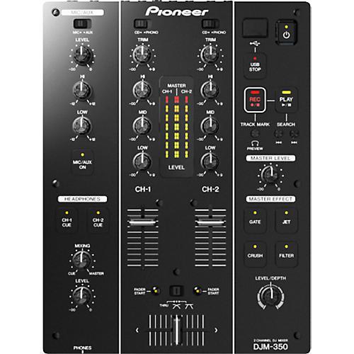 Pioneer DJM-350 2-Channel DJ Performance Mixer thumbnail