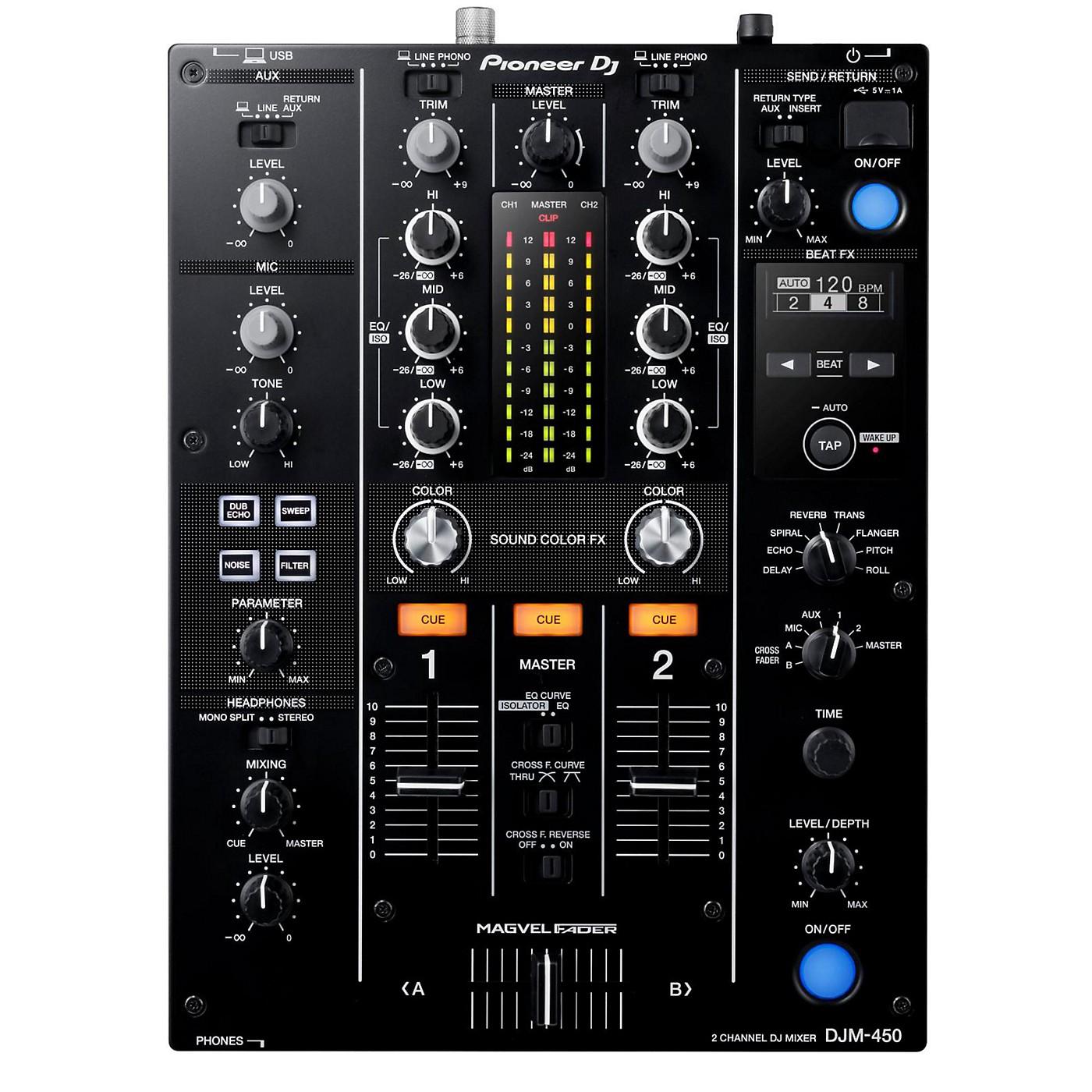Pioneer DJM-450 Professional Compact Mixer thumbnail