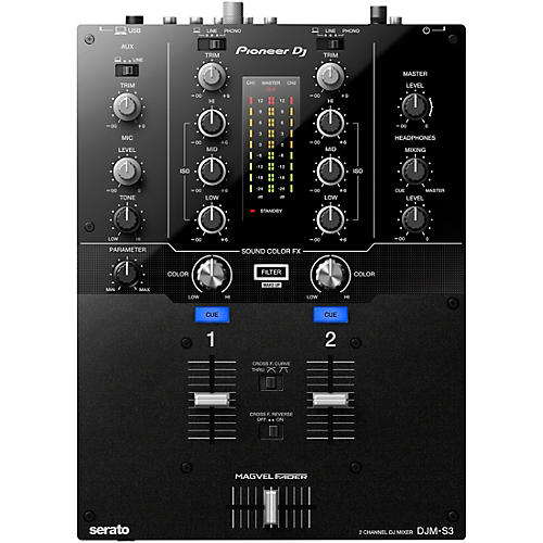Pioneer DJM-S3 2-channel Serato DJ Battle Mixer thumbnail