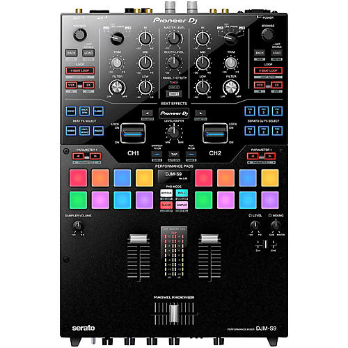 Pioneer DJM-S9 2-Channel Battle Mixer with Performance Pads-thumbnail