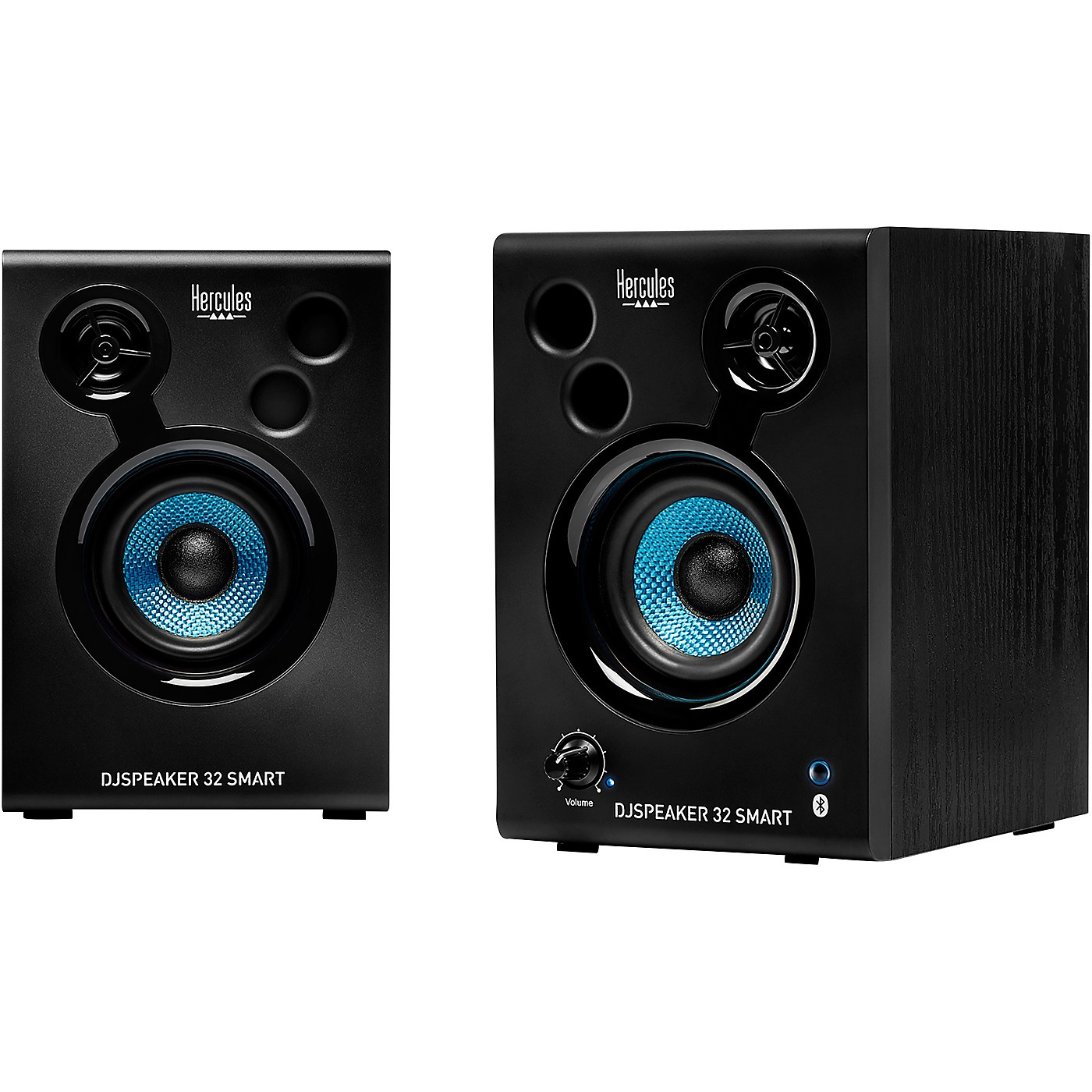 Hercules DJ DJSpeaker 32 Smart 15W 3″ Powered Speakers - Pair thumbnail