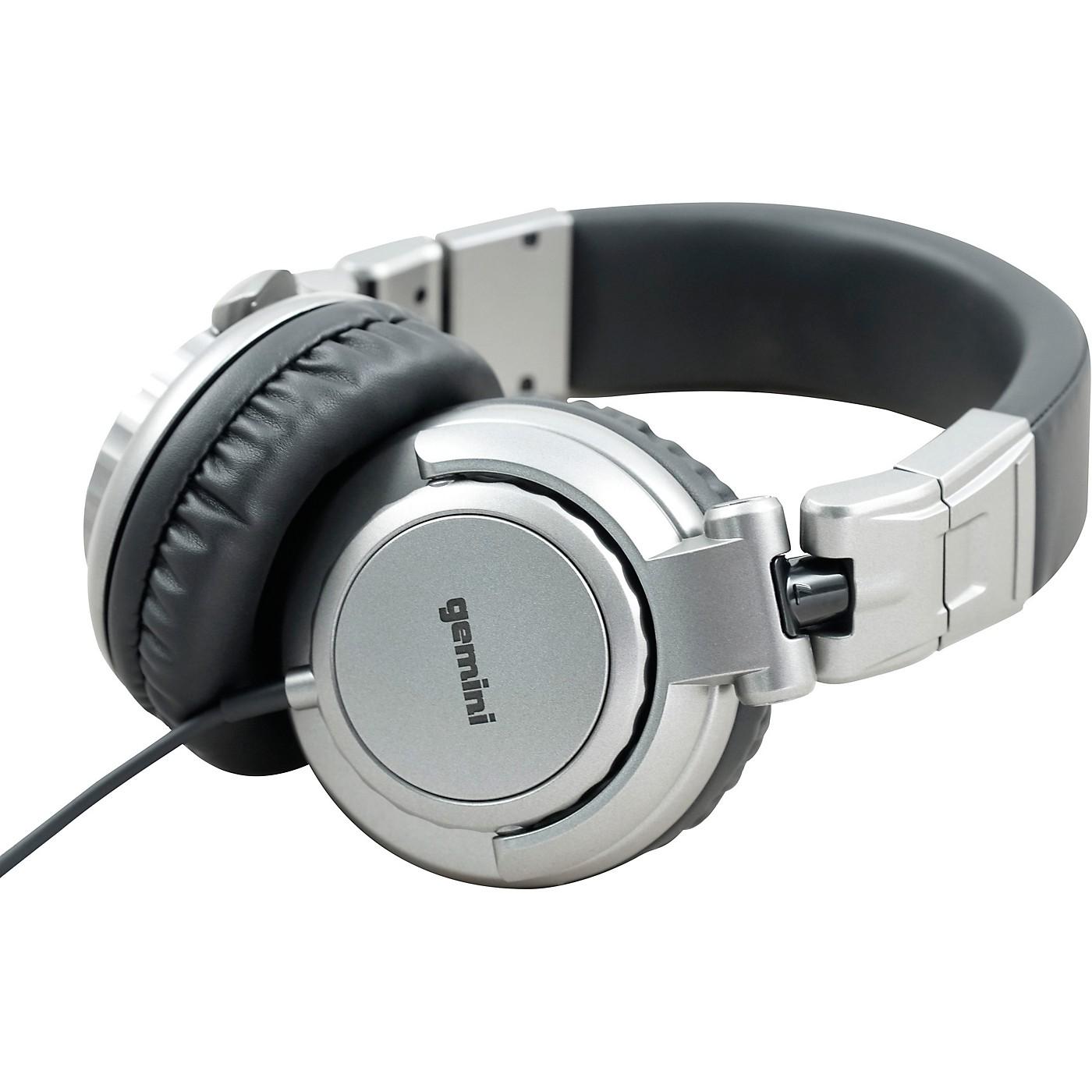 Gemini DJX-500 Professional DJ Headphones thumbnail