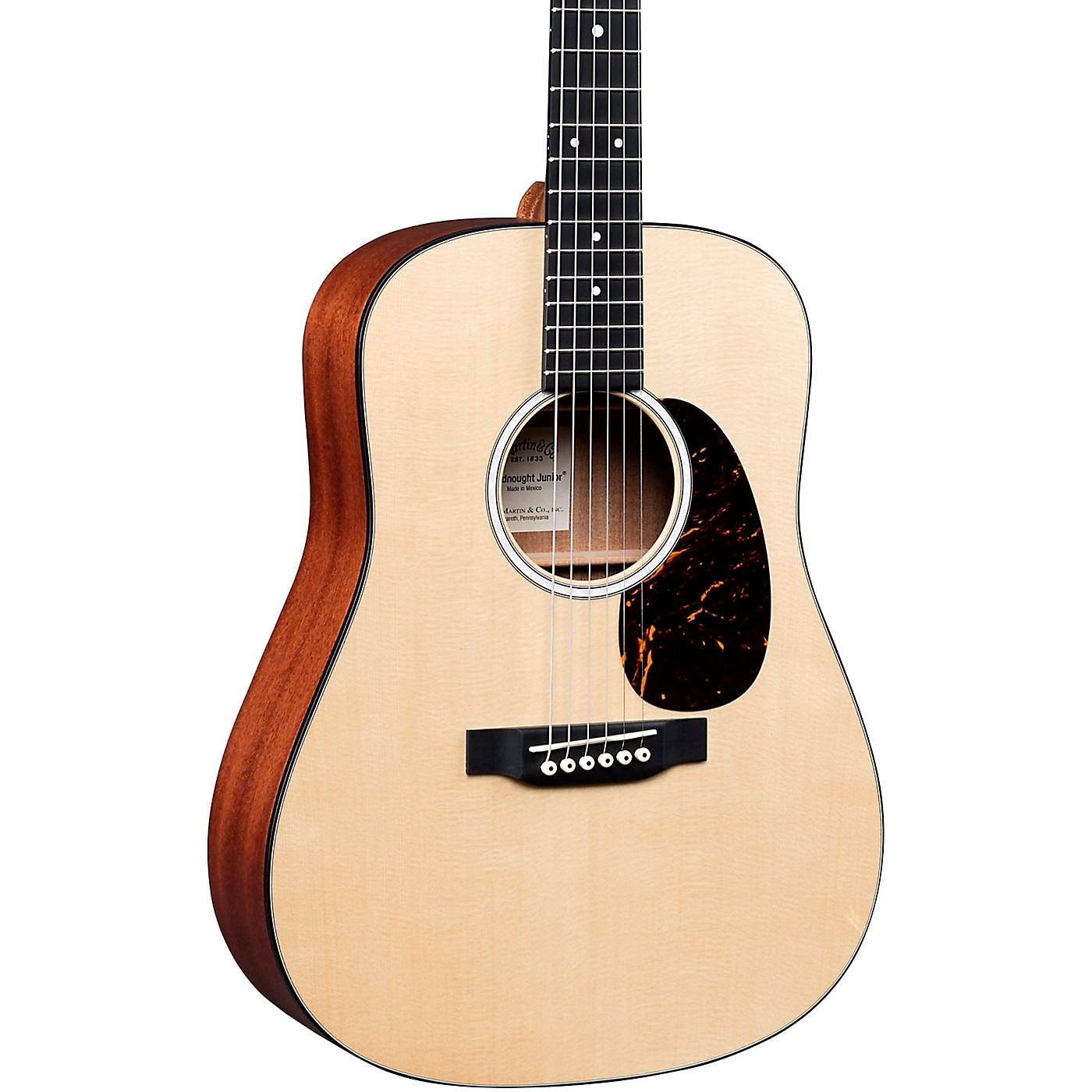 Martin DJr-10E Sitka Top Dreadnought Junior Acoustic-Electric Guitar thumbnail