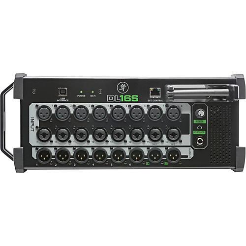 mackie dl16s 16 channel wireless digital mixer with wifi woodwind brasswind