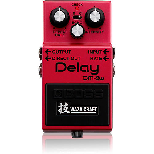 Boss DM-2W Delay Waza Craft Guitar Effects Pedal thumbnail