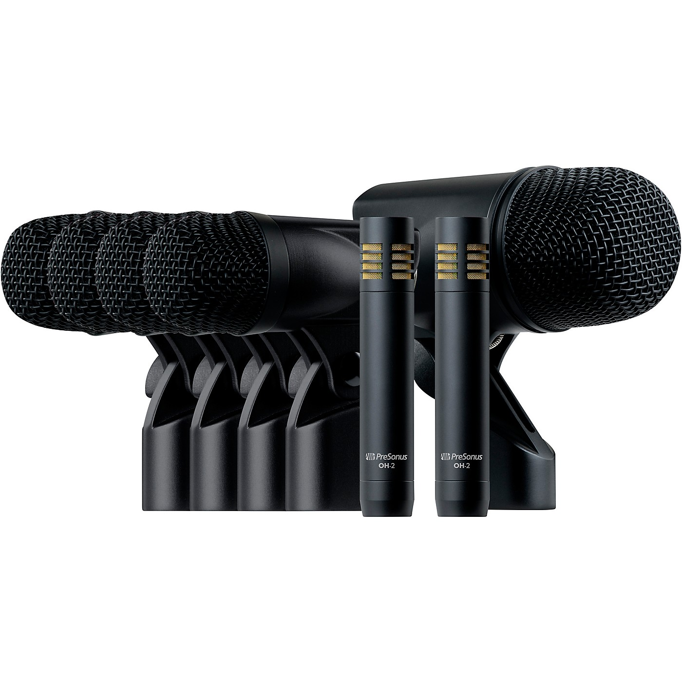 PreSonus DM-7 7-Piece Drum Microphone Set With Case thumbnail