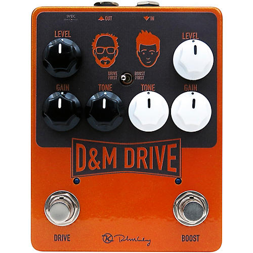 Keeley D&M Drive Effects Pedal thumbnail
