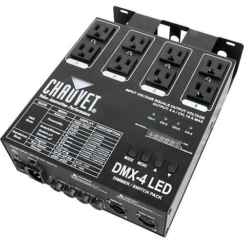 CHAUVET DJ DMX-4 LED Dimmer Switch Pack thumbnail