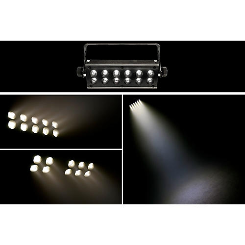 CHAUVET DJ DMX512 High Powered 12 Watt LED Strobe Effect w/ Blinder-thumbnail