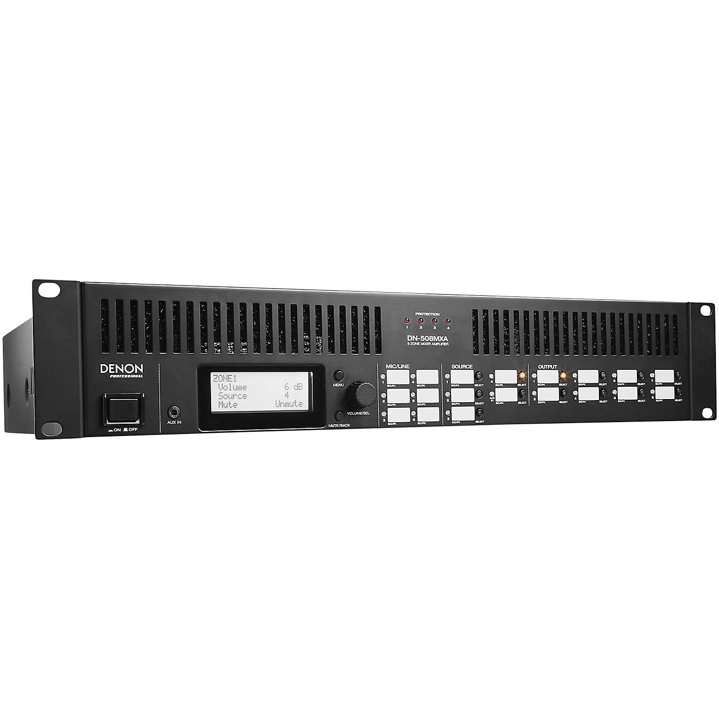 Denon Professional DN-508MXA  8 Zone Mixer With 4 Zone Amplifier thumbnail