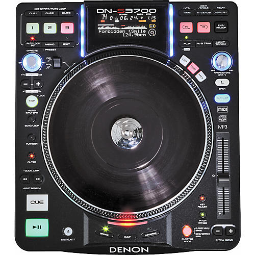 Denon DN-S3700 Digital Turntable Media Player and Controller-thumbnail