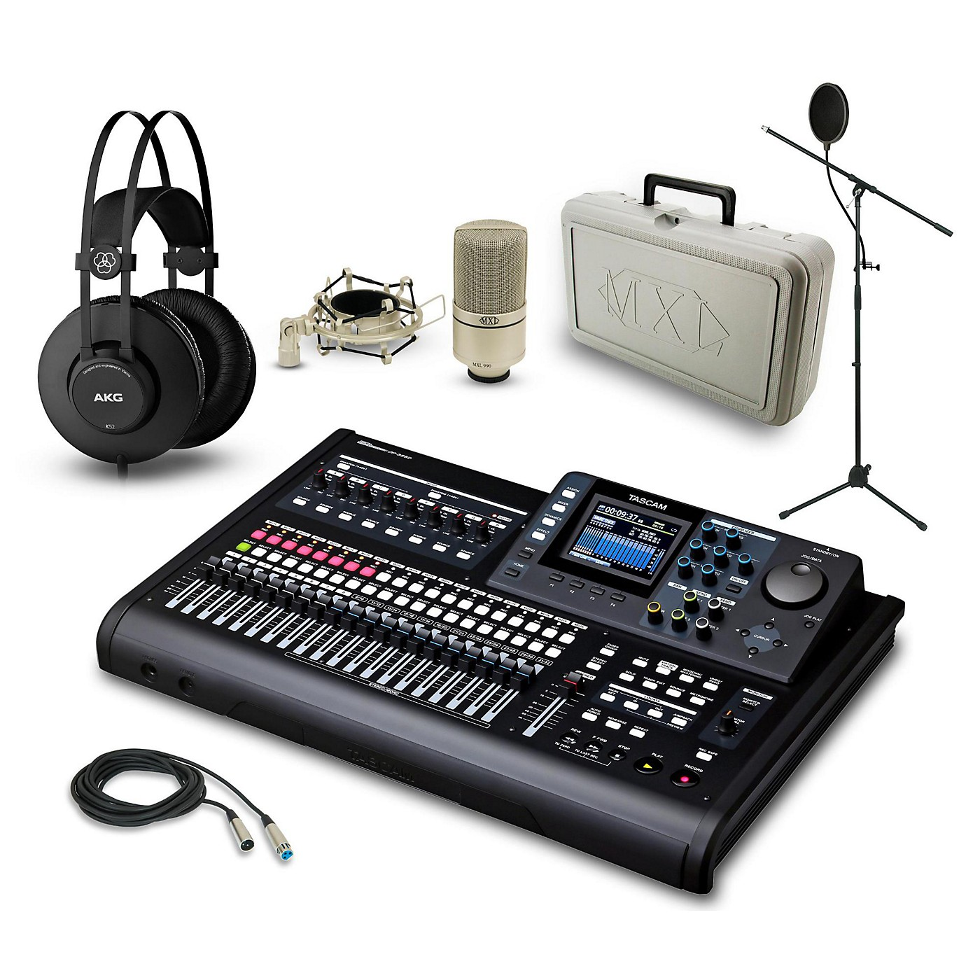 Tascam DP-32SD, K52 and 990 Package thumbnail