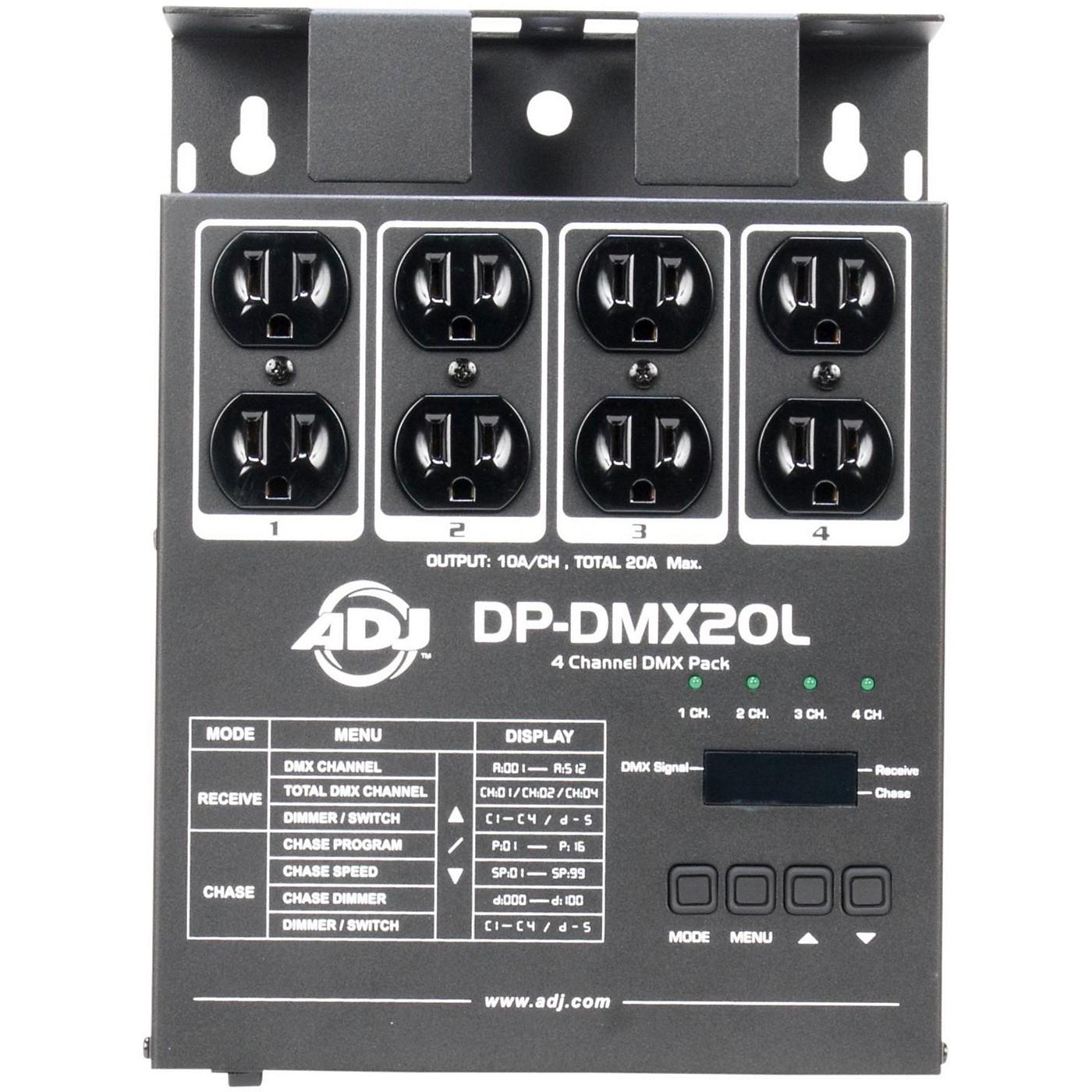 American DJ DP-DMX-20L DMX Dimmer Pack thumbnail