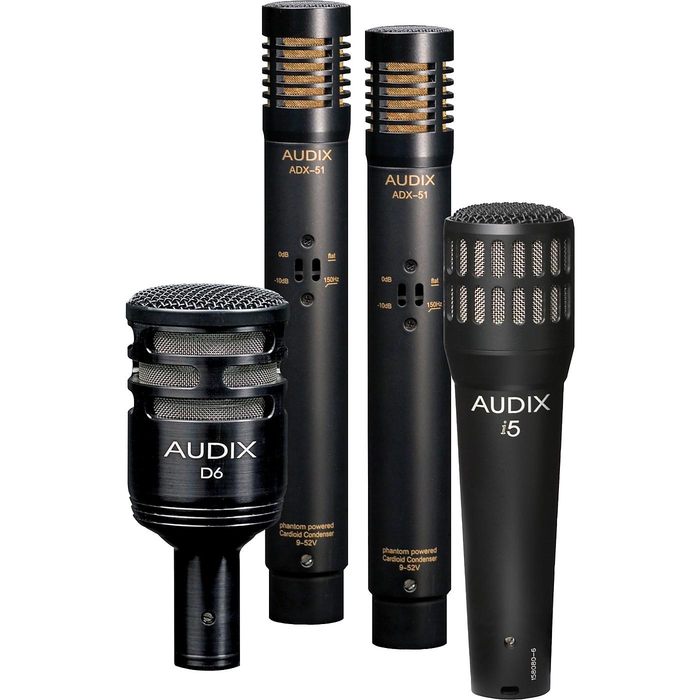 Audix DP-QUAD 4-Piece Drum Mic Pack thumbnail