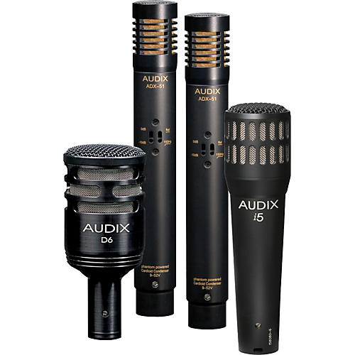 Audix DP-QUAD 4-Piece Drum Mic Pack thumbnail