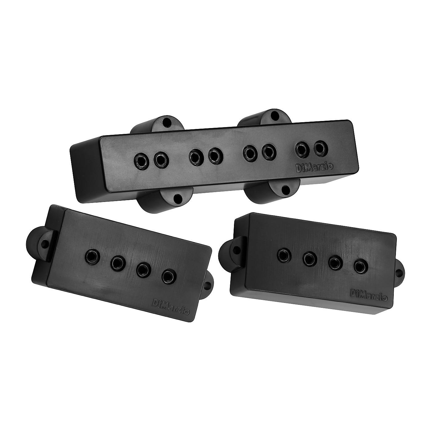 DiMarzio DP126 P+J Neck and Bridge Bass Pickup Set thumbnail