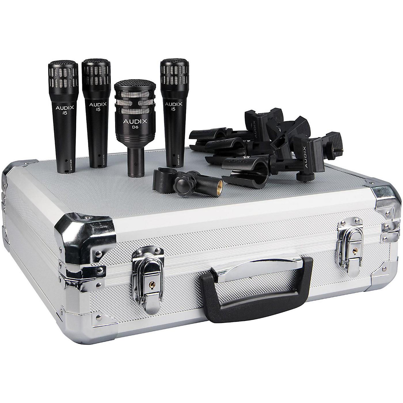 Audix DP4 Microphone Pack thumbnail
