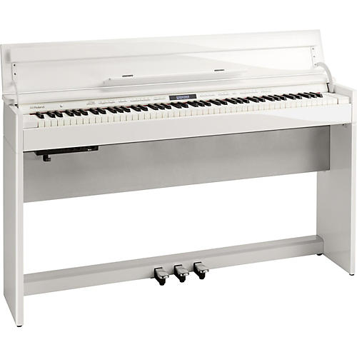 Roland DP603 Digital Home Piano with Bench Polished White thumbnail