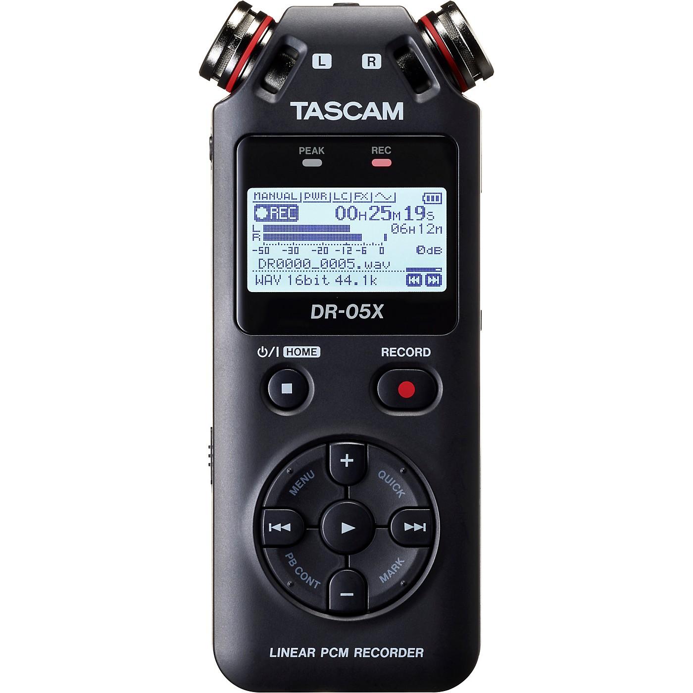 TASCAM DR-05X Portable Digital Recorder thumbnail