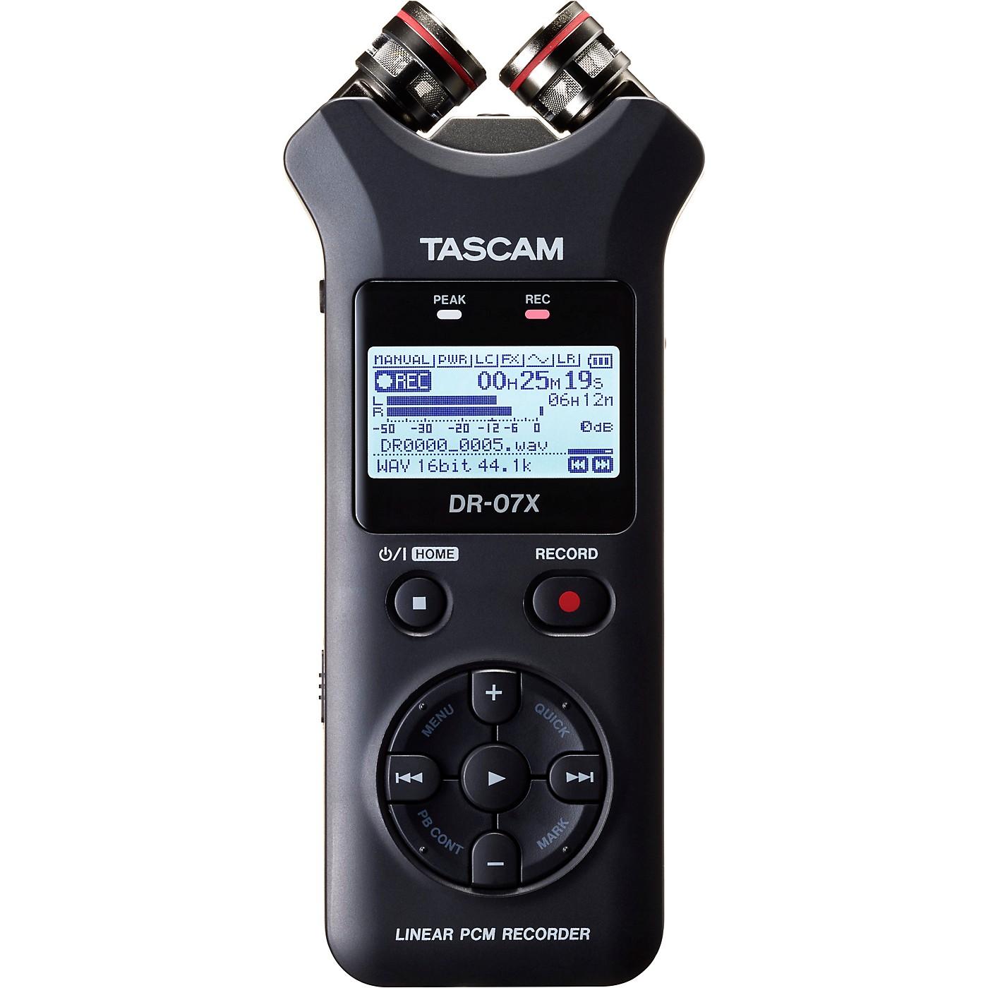 TASCAM DR-07X Portable Digital Recorder thumbnail