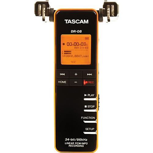 Tascam DR-08 Linear PCM/MP3 Recorder thumbnail