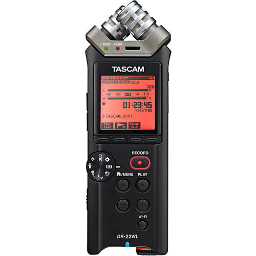 Tascam DR-22WL Handheld Linear PCM Recorder thumbnail