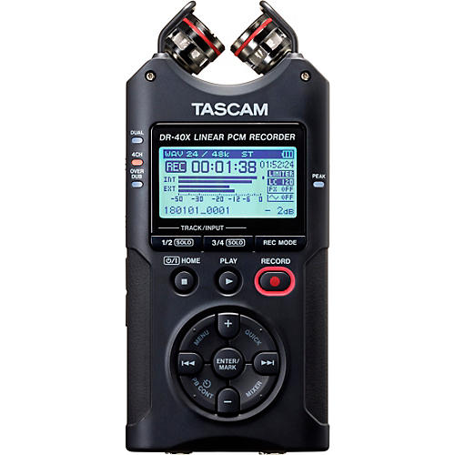 Tascam DR-40X Portable Digital Recorder thumbnail