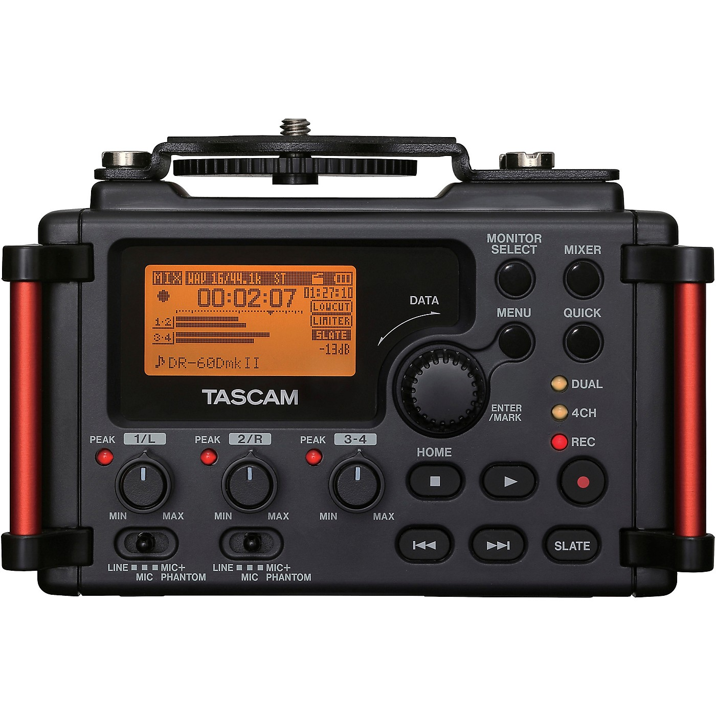 TASCAM DR-60DmkII 4-Channel Portable Recorder for DSLR thumbnail