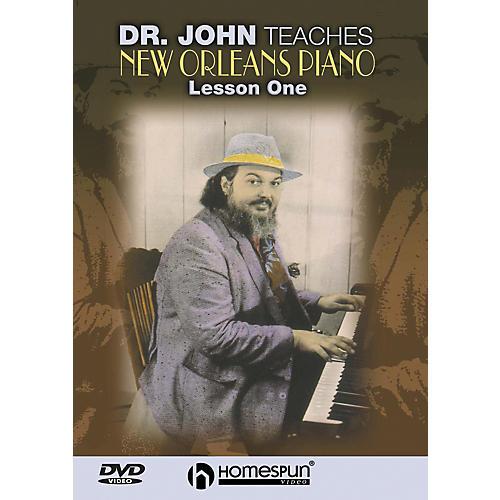 Homespun DR. John Teaches New Orleans Piano DVD 1 thumbnail