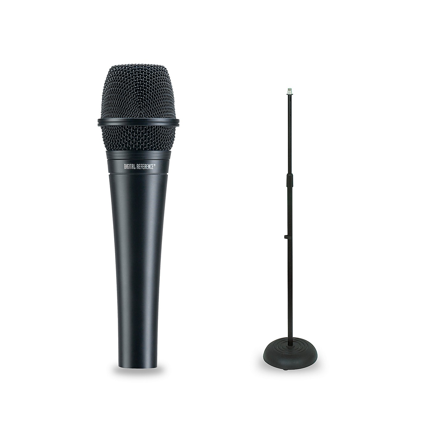 Digital Reference DRV200 Dynamic Lead Vocal Microphone and Mic Stand Package thumbnail