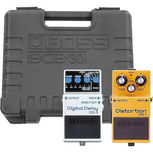 Boss DS-1/DD-3 Players Pack with BCB-30 Pedal Board thumbnail
