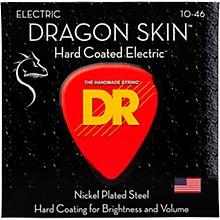 DR Strings DSE-10 Dragon Skin Coated Medium Electric Guitar Strings