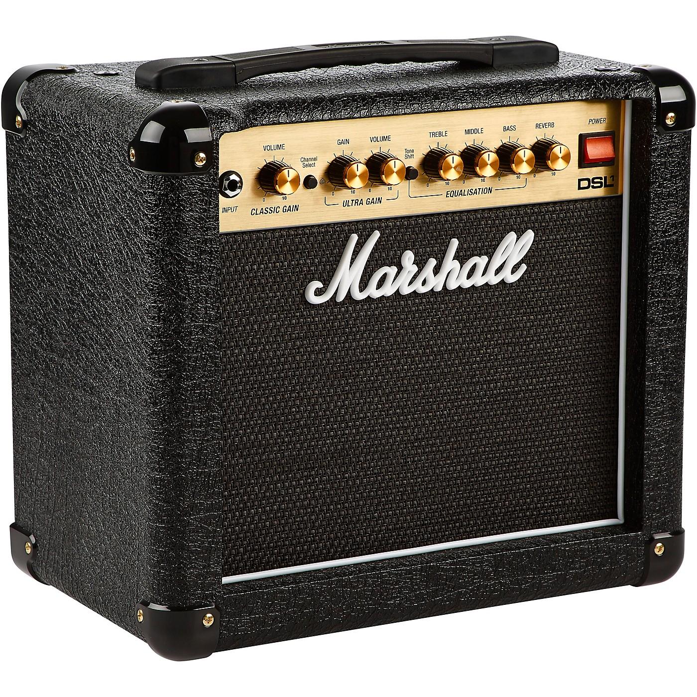 Marshall DSL1CR 1W 1x8 Tube Guitar Combo Amp thumbnail