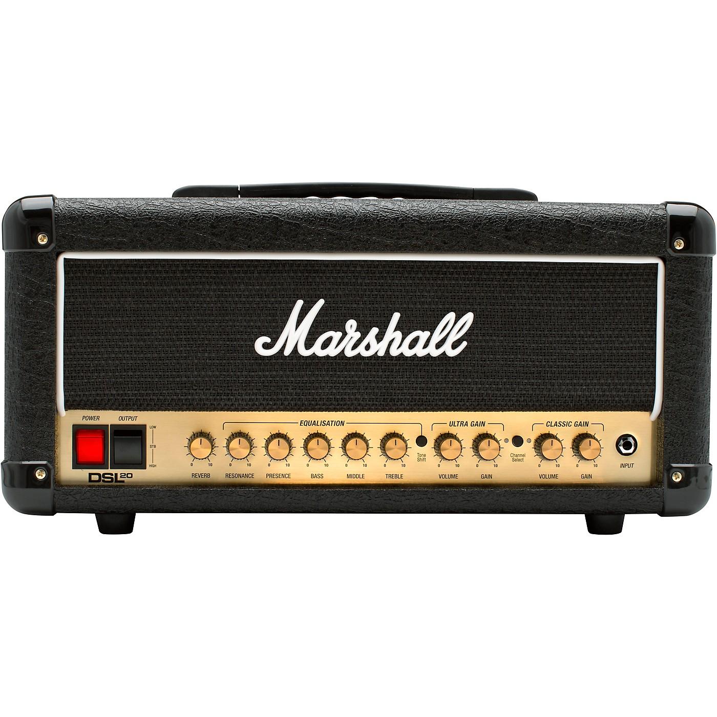 Marshall DSL20HR 20W Tube Guitar Amp Head thumbnail