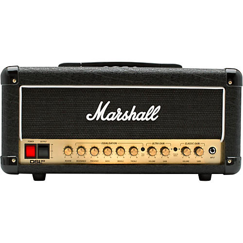Marshall DSL20HR 20W Tube Guitar Amp Head thumbnail