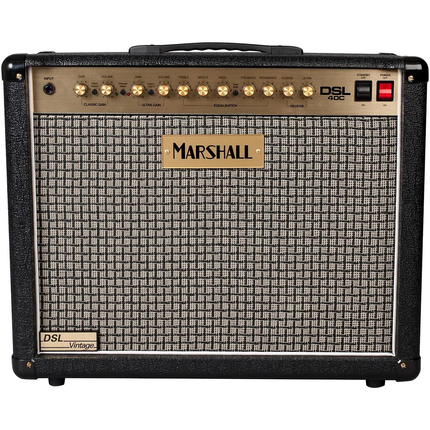 Marshall DSL40C Limited Edition Vintage 40W 1x12 Tube
