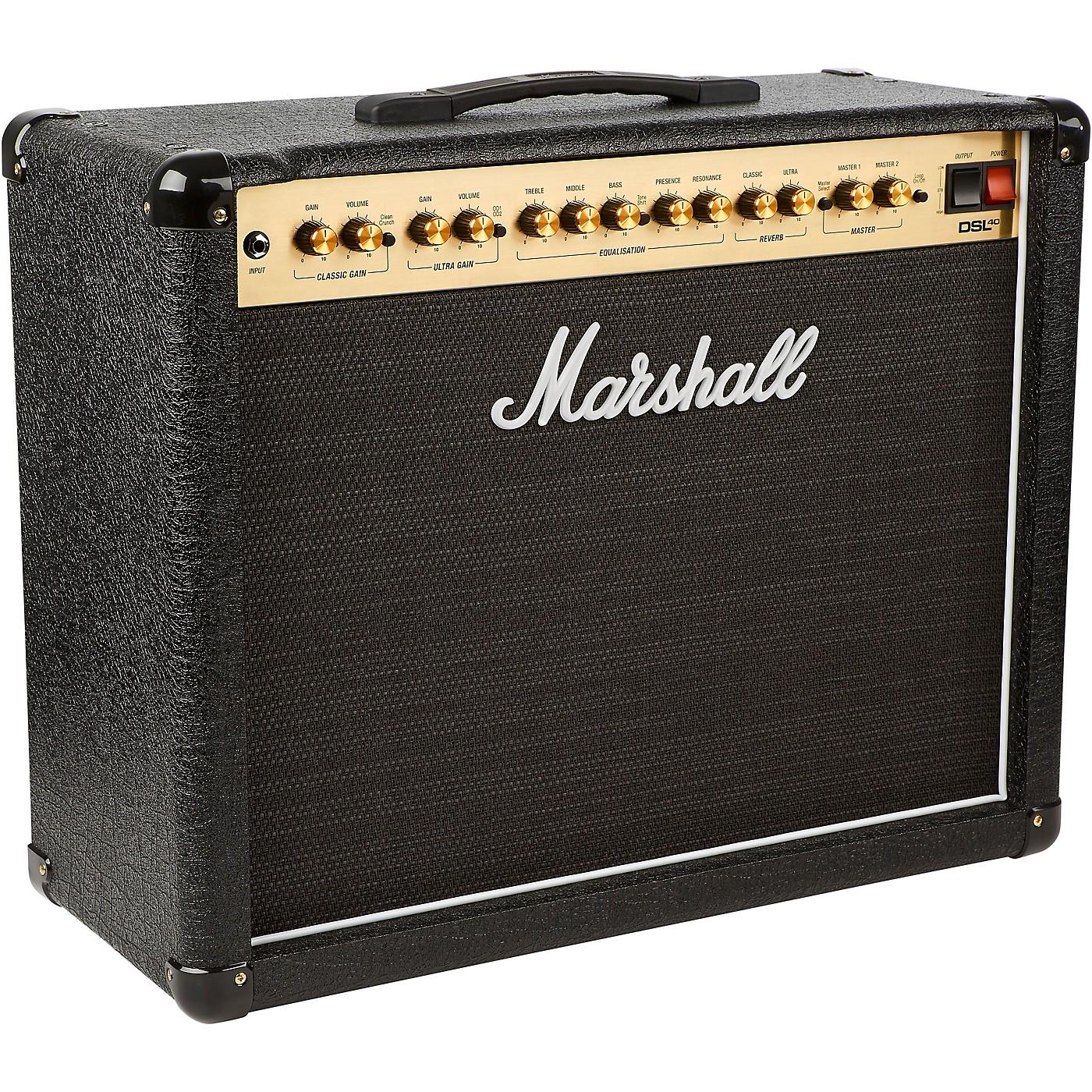 Marshall DSL40CR 40W 1x12 Tube Guitar Combo Amp thumbnail