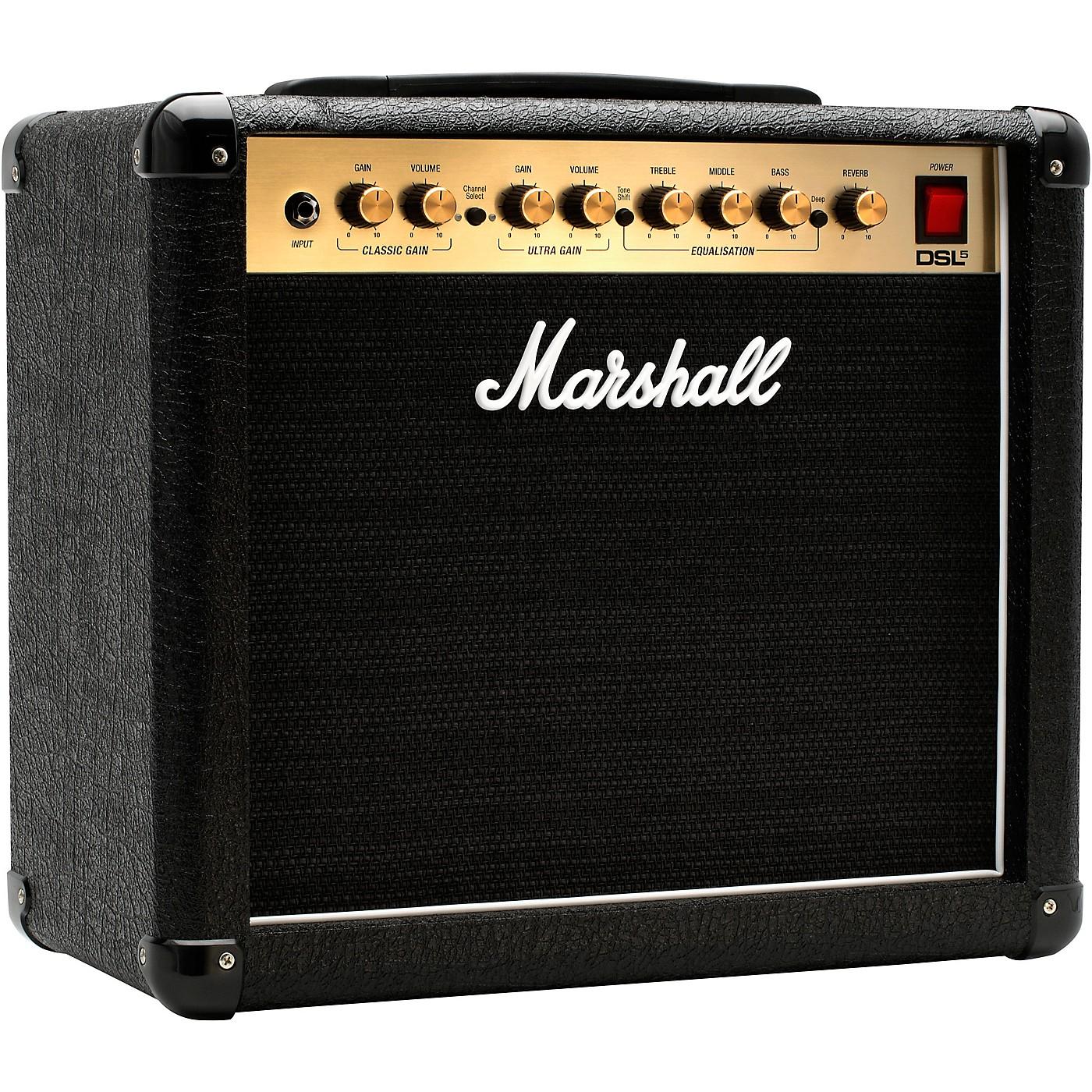 Marshall DSL5CR 5W 1x10 Tube Guitar Combo Amp thumbnail
