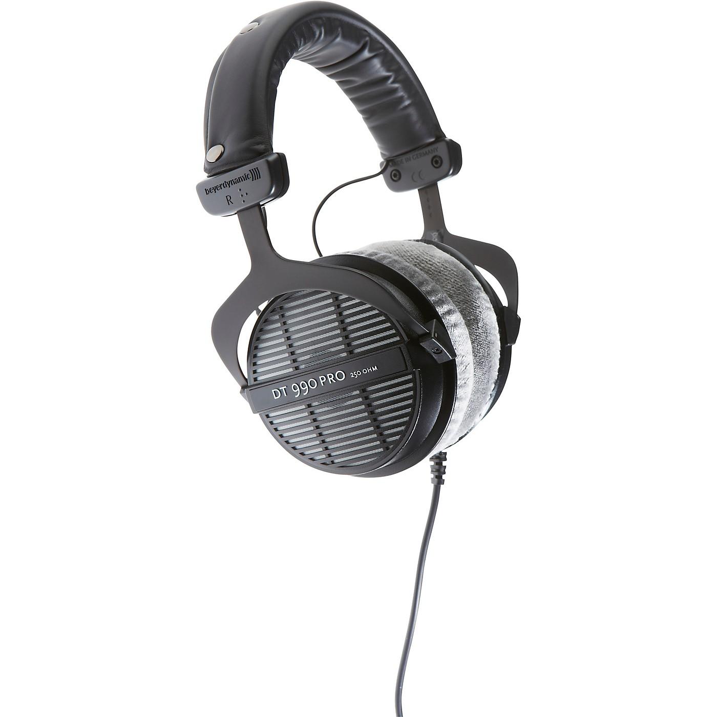 Beyerdynamic DT 990 PRO Open Studio Headphones 250 Ohms thumbnail