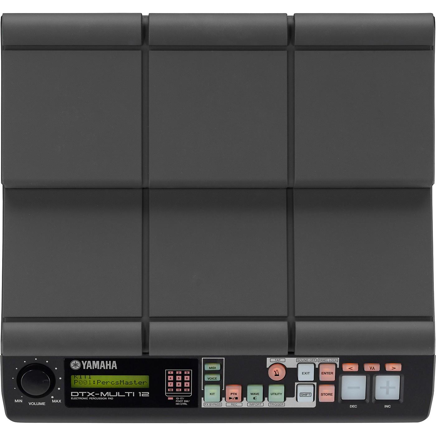 Yamaha DTX-MULTI 12 Digital Percussion Pad thumbnail