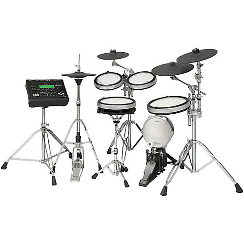 Dtx920hwk electronic drum set with yamaha hardware pack wwbw for Yamaha electronic drum set