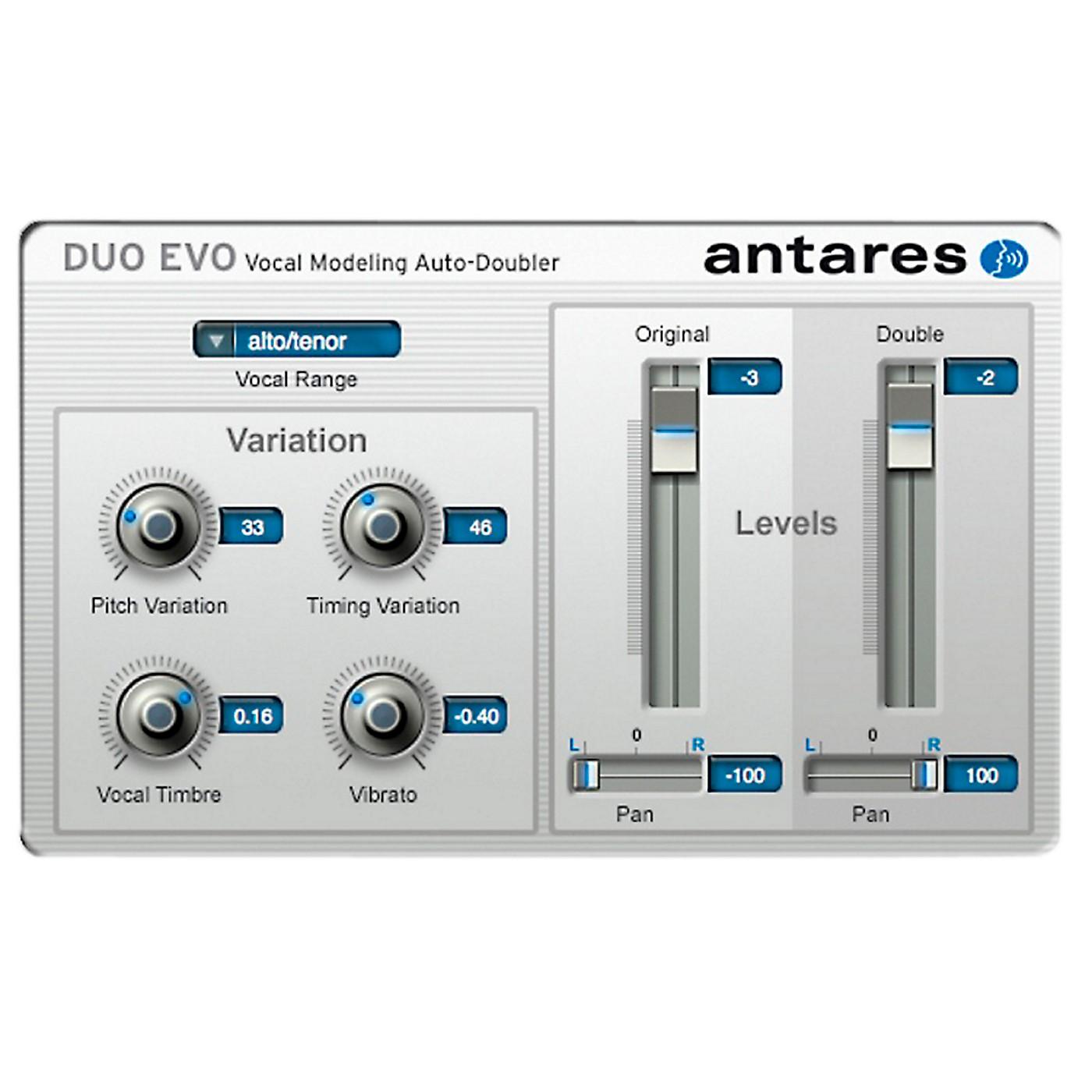 Antares DUO Evo (VST/ AU/ RTAS) Software Software Download thumbnail