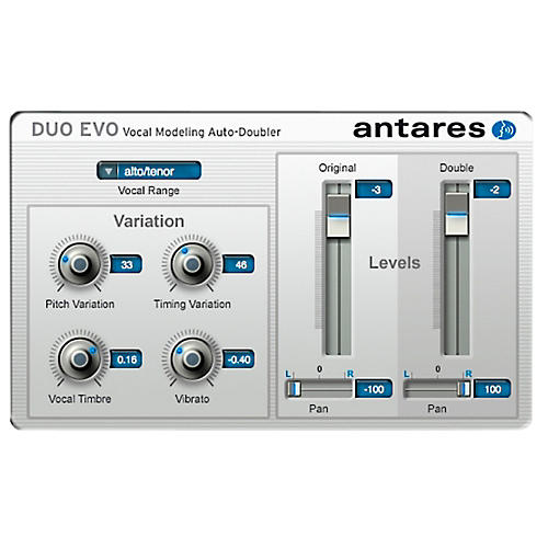 Antares DUO Evo (VST/ AU/ RTAS) Software Software Download thumbnail