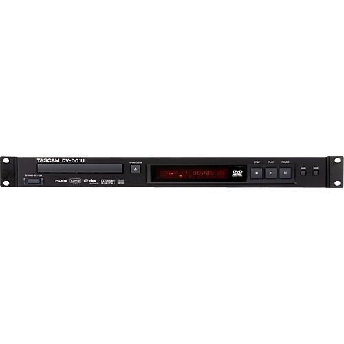 Tascam DV-D01U Rackmountable Single Disc DVD Player-thumbnail