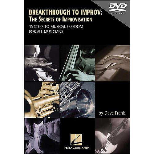 Hal Leonard DVD Breakthrough To Improv: The Secrets Of Improvisation thumbnail