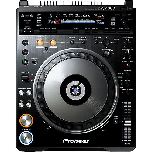 Pioneer DVJ-1000 Professional DVD Turntable thumbnail