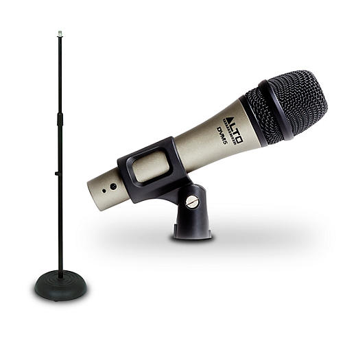 Alto DVM5 Handheld Dynamic Microphone And Mic Stand Package thumbnail