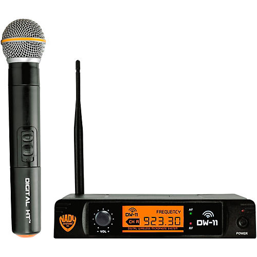 Nady DW-11 HT 24 bit Digital Handheld Wireless Microphone System thumbnail