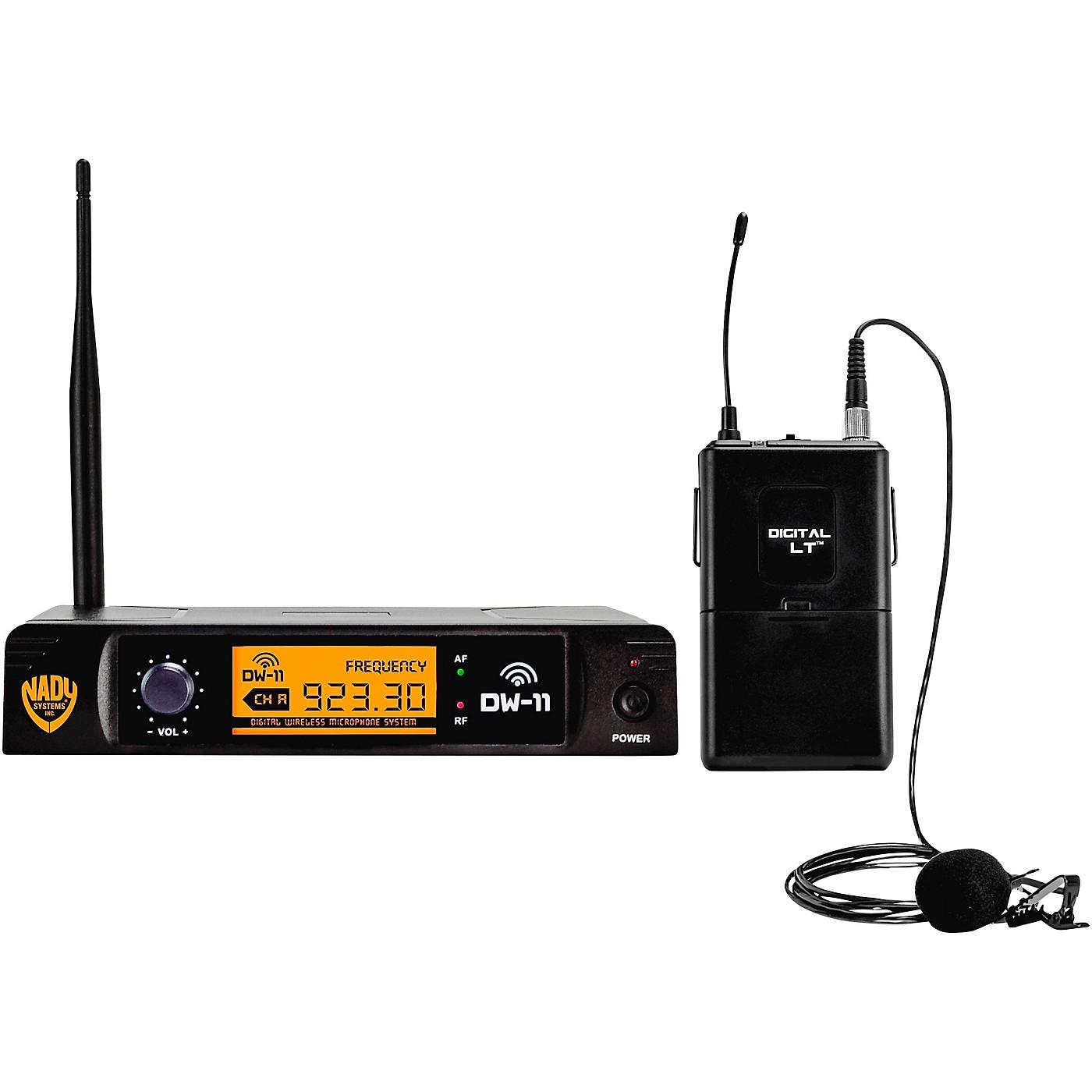 Nady DW-11 LT 24 bit Digital Lapel Wireless Microphone System thumbnail